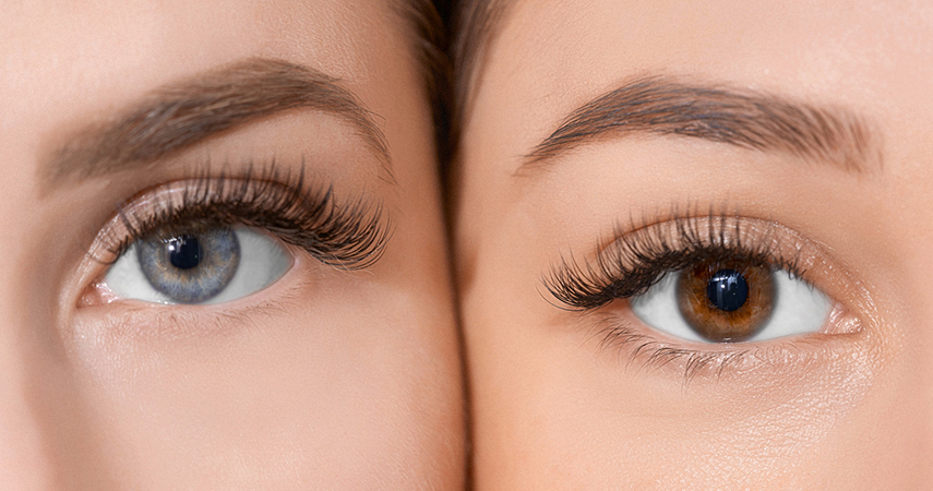 Stop eyelashes falling out to have full, lush lashes like these women.