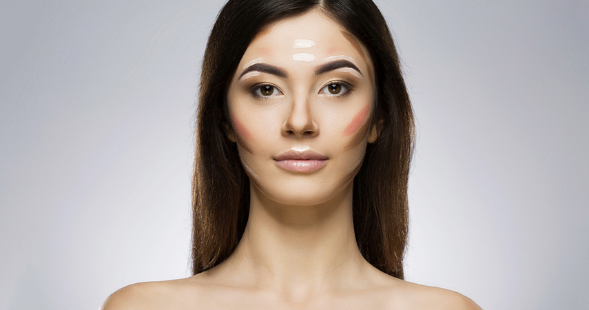 Learning how to contour with foundation will give you a defined, sculpted face.