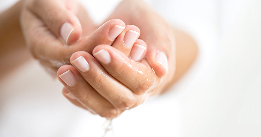Keeping hydrated is one of many ways of how to get rid of dry skin.